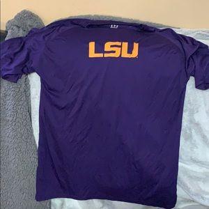Men's LSU short sleeve shirt